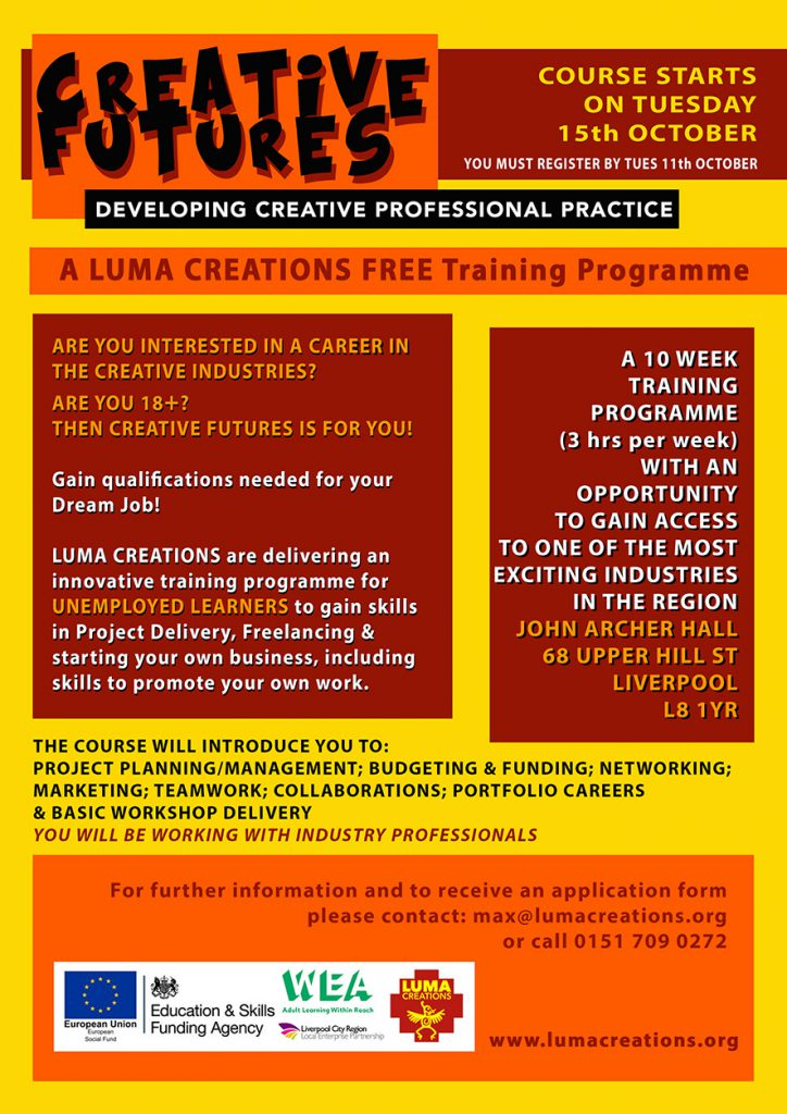 LUMA Creative Futures - October 2019