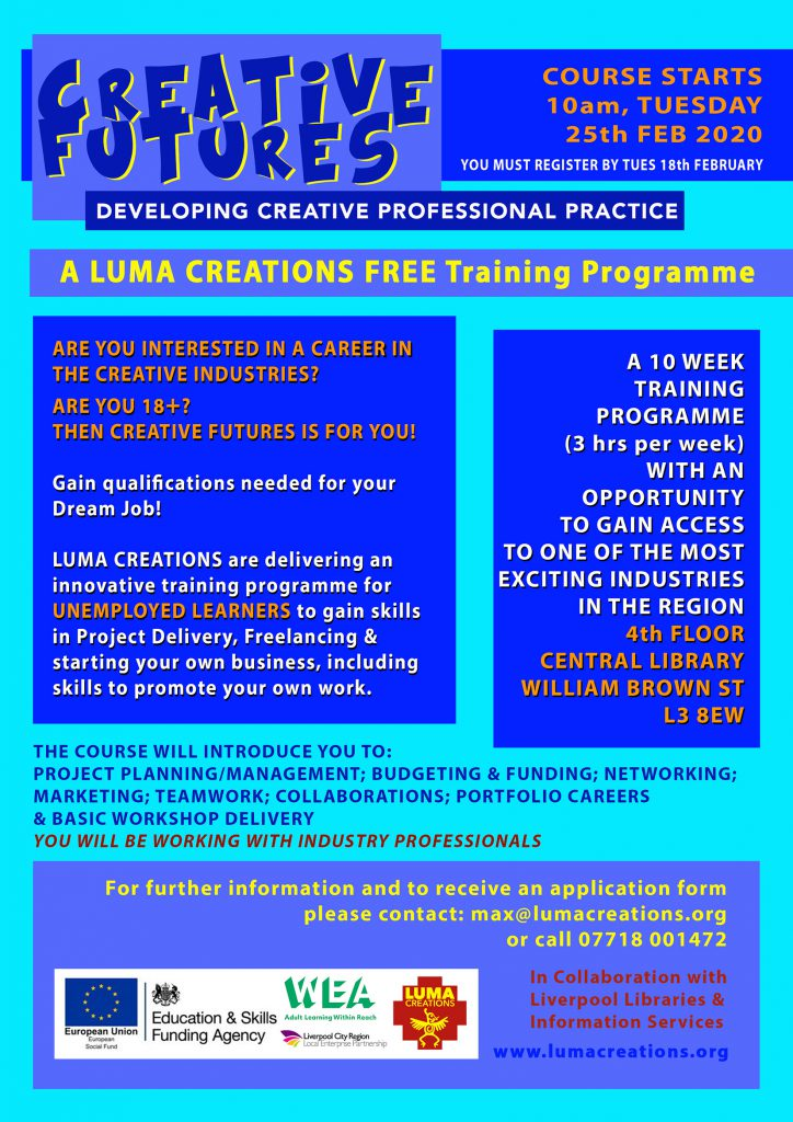 LUMA Creative Futures - February2020