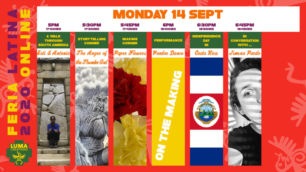 LUMA Feria Latina Monday Programme
